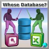 Чья база данных?