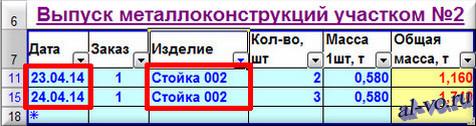 База данных в Excel-автофильтр по записи поля-02-12s