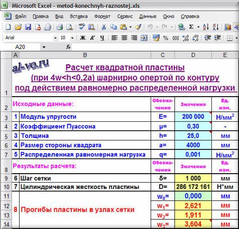 Расчет-в-Excel-прогибов-1-48m